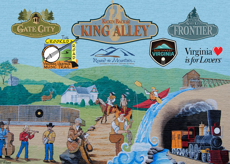 King Alley Mural