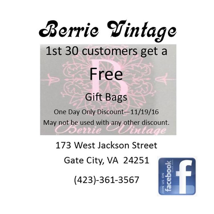 Berrie Vintage 111416
