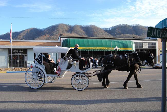 xmas carriage