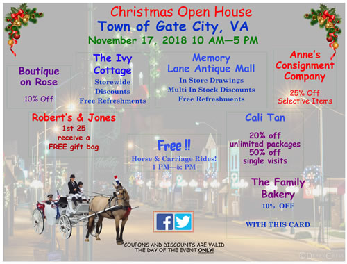 Christmas Open House 2018