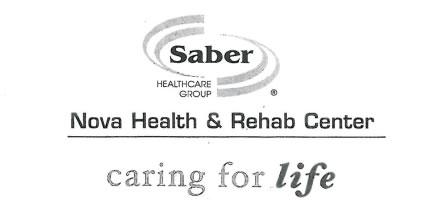 Kidz Zone is sponsored by Nova Health & Rehab Center