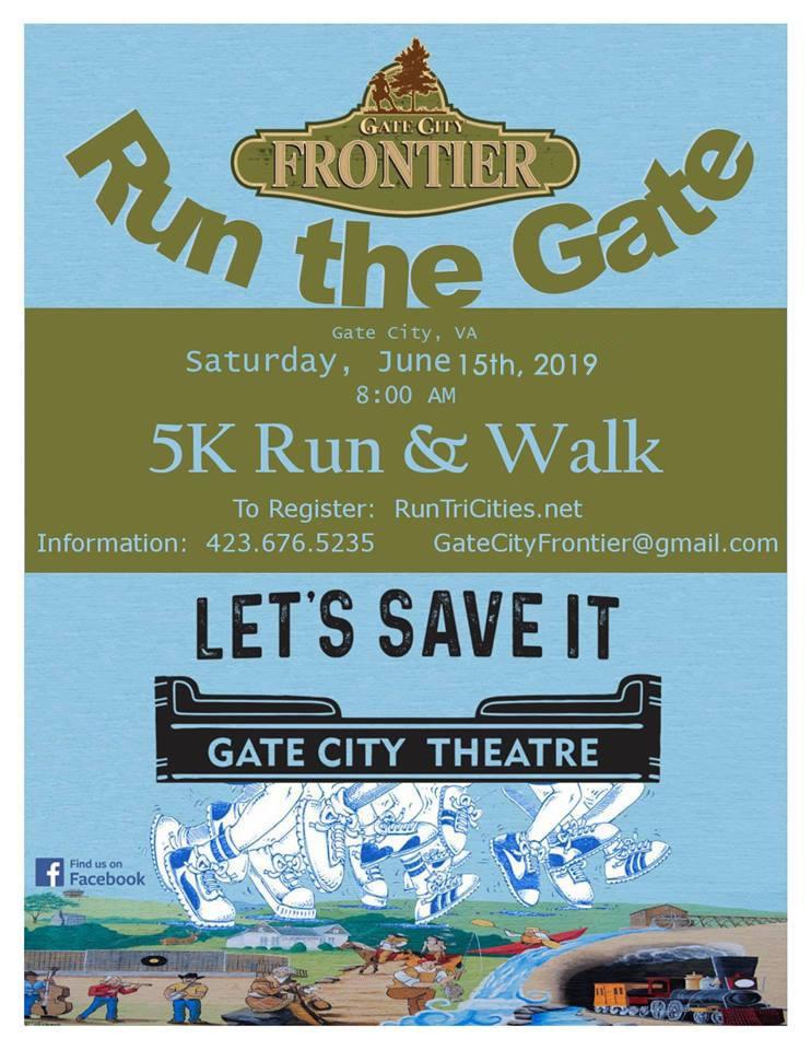 Run the Gate Flyer