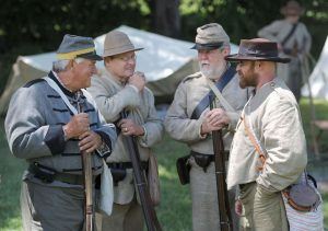 Civil War Living History - Civil War Reenactment Event